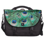 Peacock Feathers Commuter Bags