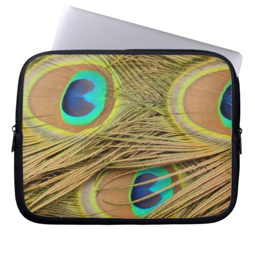 Peacock Feathers Computer Sleeves