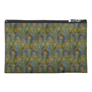 Peacock Feathers Coordinates Travel Accessory Bag