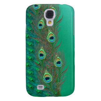Peacock feathers design  galaxy s4 cover