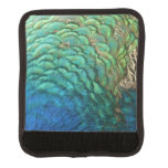 Peacock Feathers Design Luggage Handle Wrap