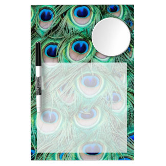 Peacock Feathers Dry Erase Whiteboards