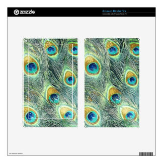 PEACOCK FEATHERS eReader Skin Kindle Fire Skins