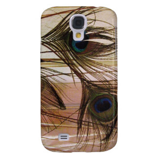 Peacock Feathers Galaxy S4 Cover