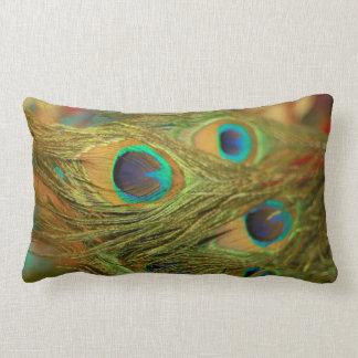 Peacock Feathers Home Decor Throw Pillow