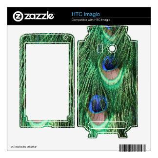 Peacock Feathers HTC Imagio Skin