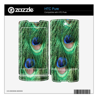 Peacock Feathers HTC Pure Skin