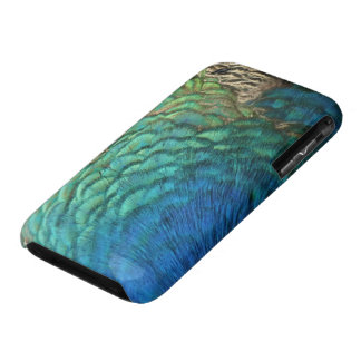 Peacock Feathers I Colorful Abstract Nature Design Case-Mate iPhone 3 Case