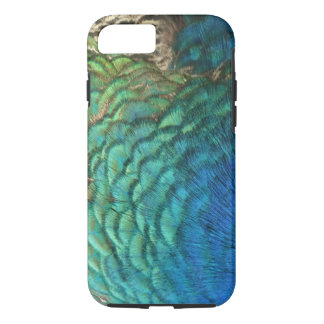 Peacock Feathers I Colorful Abstract Nature Design iPhone 8/7 Case