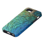 Peacock Feathers I Colorful Abstract Nature Design iPhone SE/5/5s Case