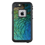 Peacock Feathers I Colorful Abstract Nature Design LifeProof FRĒ iPhone 6/6s Case