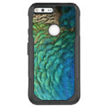 Peacock Feathers I Colorful Abstract Nature Design OtterBox Commuter Google Pixel XL Case