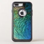 Peacock Feathers I Colorful Abstract Nature Design OtterBox Commuter iPhone 7 Plus Case