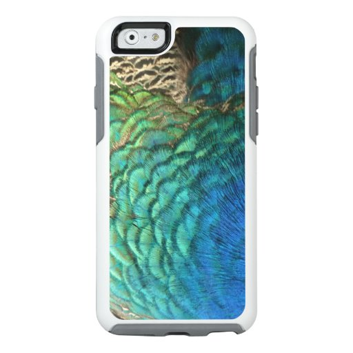 Peacock Feathers I Colorful Abstract Nature Design OtterBox iPhone 6/6s Case