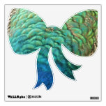 Peacock Feathers I Colorful Abstract Nature Design Wall Sticker