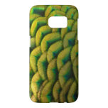 Peacock Feathers II Colorful Nature Design Samsung Galaxy S7 Case