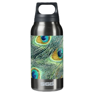 PEACOCK FEATHERS INSULATED WATER BOTTLE