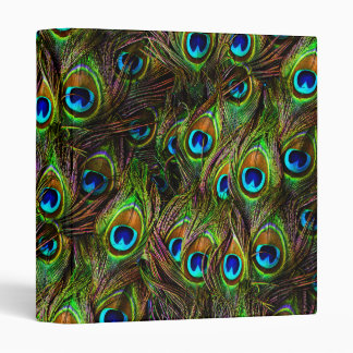 Peacock Feathers Invasion Binder