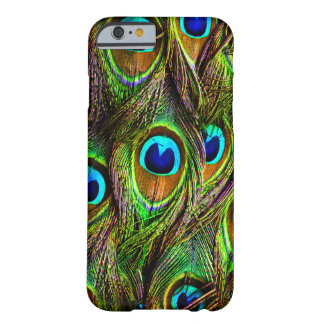 Peacock Feathers Invasion Barely There iPhone 6 Case