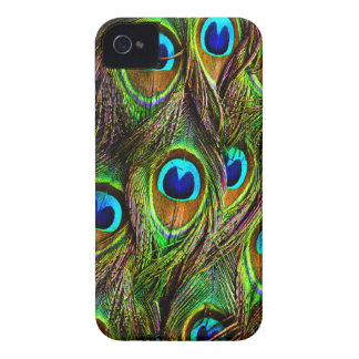 Peacock Feathers Invasion iPhone 4 Cover
