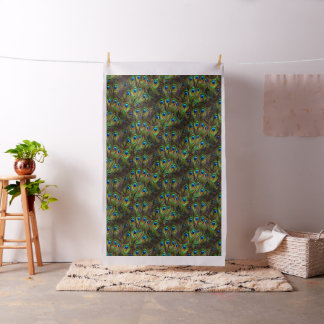Peacock Feathers Invasion Fabric