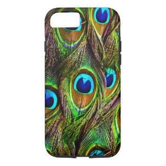 Peacock Feathers Invasion iPhone 7 Case