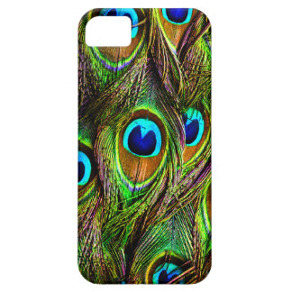 Peacock Feathers Invasion iPhone SE/5/5s Case