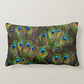 Peacock Feathers Invasion Pillows