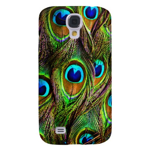 Peacock Feathers Invasion Samsung Galaxy S4 Case