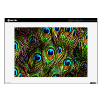 Peacock Feathers Invasion Laptop Skins