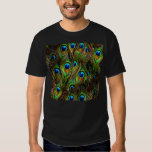 Peacock Feathers Invasion T-Shirt