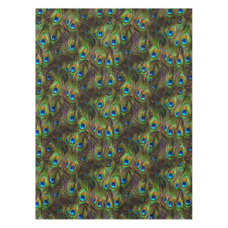 Peacock Feathers Invasion Tablecloth