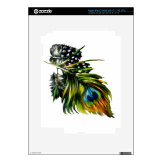 Peacock Feathers iPad 3 Decals