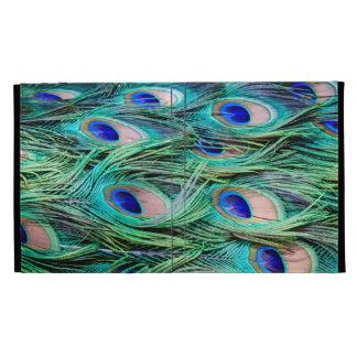 Peacock Feathers iPad Folio Cover