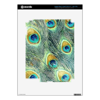 PEACOCK FEATHERS iPad Skin