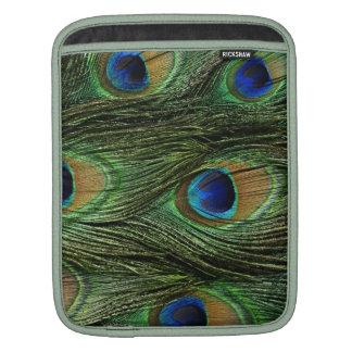 Peacock Feathers iPad Sleeve