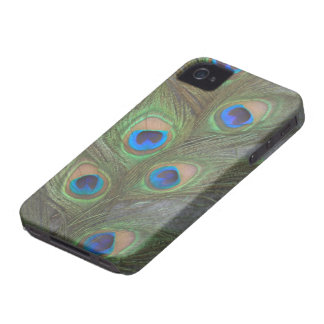 Peacock Feathers iPhone 4 ID Case
