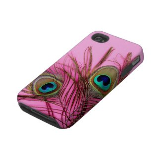 Peacock Feathers iPhone 4 Tough Case-Mate Case
