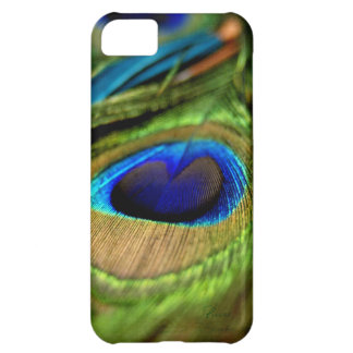 Peacock Feathers iPhone 5C Cases