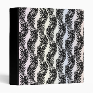 Peacock Feathers IV 3 Ring Binder