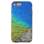 Peacock Feathers IV Colorful Nature Design Tough iPhone 6 Case