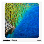Peacock Feathers IV Colorful Nature Design Wall Decor