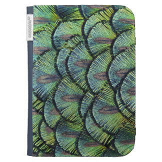 Peacock Feathers Kindle Case