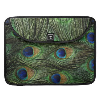 Peacock Feathers Macbook Pro Sleeve