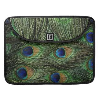 Peacock Feathers Macbook Pro Sleeve