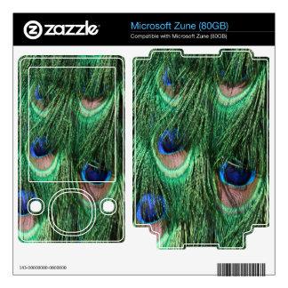 Peacock Feathers Microsoft Zune (80GB) Skin Zune Skin
