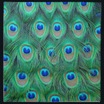 """peacock feathers napkin<br><div class=""""desc"""">peacock feathers</div>"""