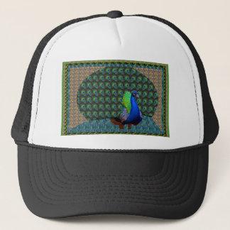 Peacock Feathers National Bird of India Krishna 99 Trucker Hat