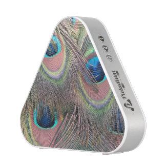 Peacock Feathers Bluetooth Speaker