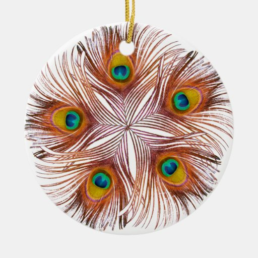 Peacock Feathers Ornament